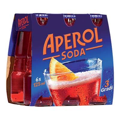 APEROL SODA 3� ML.125 X 6