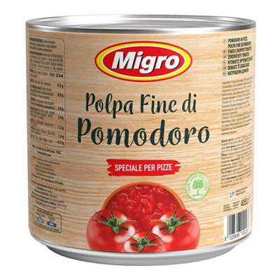 MIGRO POLPA FINE POMODORO KG.4,050