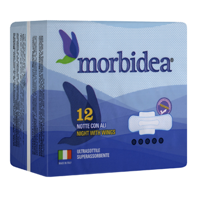 MORBIDEA ASSORBENTI NOTTE CONALI PZ.12