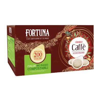FORTUNA CAFFE'CIALDE X200 PZCOMPOSTABILI