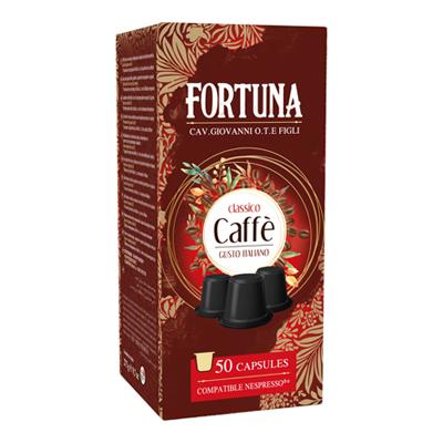 FORTUNA CAFFE'CAPSULE X50 PZ COMPATIBILI NESPRESSO