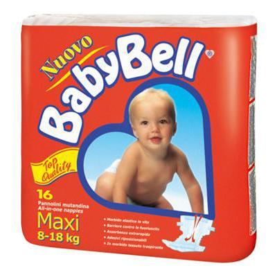 BABY BELL GRANDE 16 PZ 8-18 KGTOP QUALITY