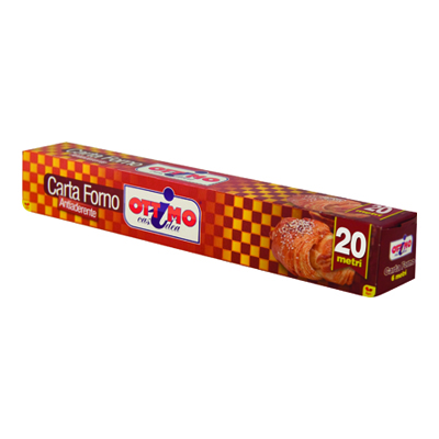 OTTIMO CARTA FORNO MT.20