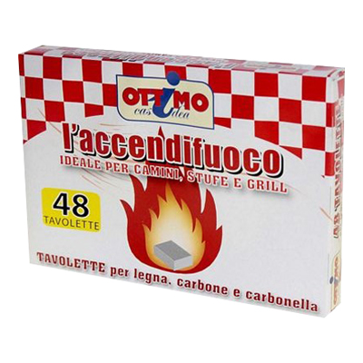 OTTIMO ACCENDIFUOCO 48 TAVOLETTE
