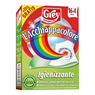 GREY ACCHIAPPACOLORE IGIENIZZANTE X 16 FOGLI