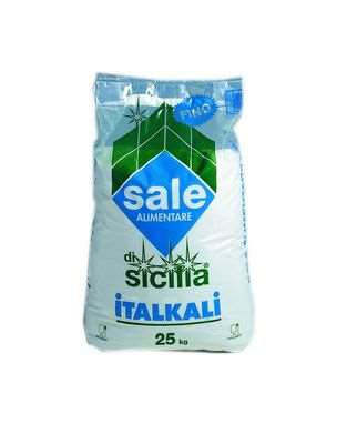 SALE DI SICILIA FINO KG.25