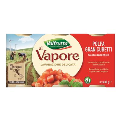 VALFRUTTA POLPA GR.400X3