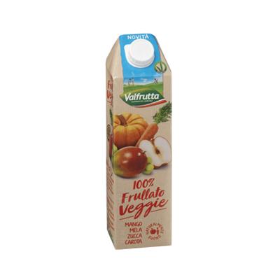 VALFRUTTA LT.1 MIX VEGGIE ARANCIO 100% FRULLATO