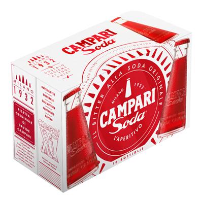CAMPARI SODA 10� CL.10X10