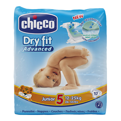 CHICCO DRY FIT ADVANCED JUNIOR5 12-25 KG