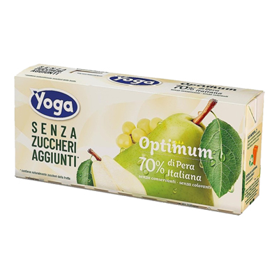 YOGA OPTIMUM PERA SENZA ZUCCHERI ML.200X3
