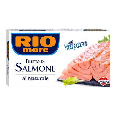 RIO MARE SALMONE NATURALE GR.150