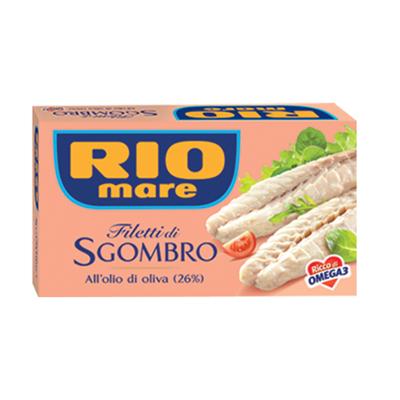 RIO MARE FILETTI SGOMBRO GR.125 OLIO OLIVA