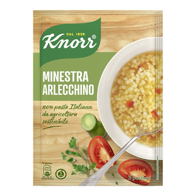 KNORR MINESTRA ARLECCHINO GR.68