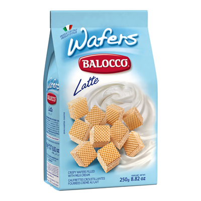 BALOCCO WAFERS GR.250 LATTE