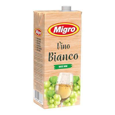 MIGRO VINO BRICK BIANCO 10.5�LT.1