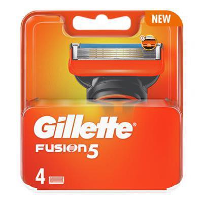 GILLETTE RICARICA FUSION 5 MANUAL X4