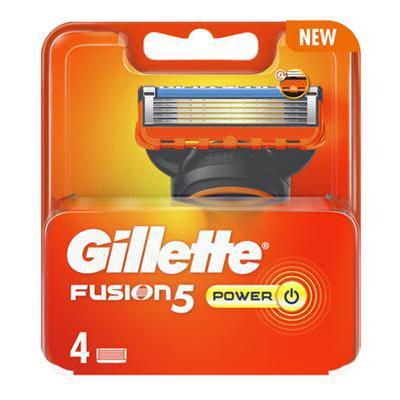 GILLETTE RICARICA FUSION 5 POWER X4