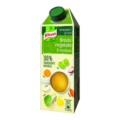 KNORR 100% BRODO ML.750 VEGETALE