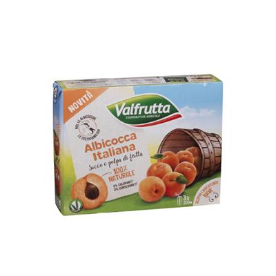VALFRUTTA ML.200X3 ALBICOCCA
