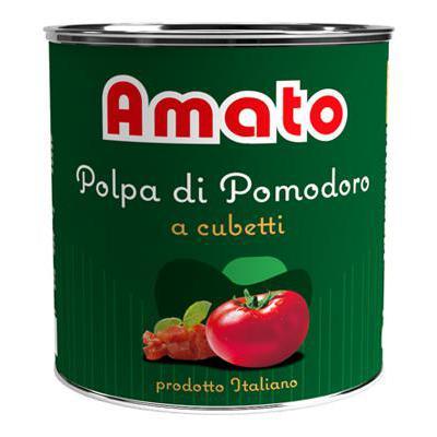 AMATO POLPA CUBETTI KG.2,5ETICHETTA