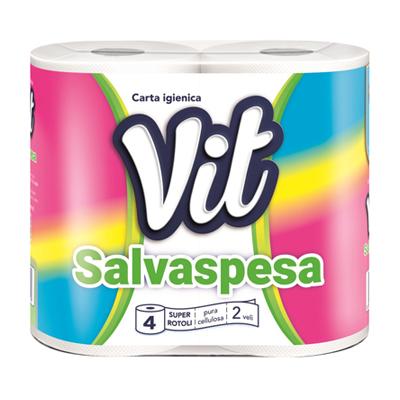 VIT CARTA IGIENICA X 4 ROTOLISALVASPESA