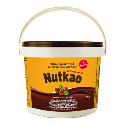 NUTKAO KG.3 SECCHIO CREMA CACAO CON 7% NOCCIOLE