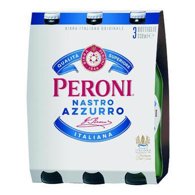 BIRRA NASTRO AZZURRO CL.33X3 5,1�