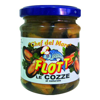 FLOTT COZZE NATURALI GR.190