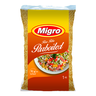 MIGRO RISO PARBOILED KG.1
