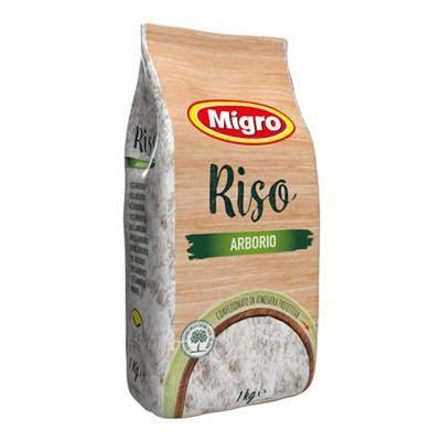 MIGRO LINEA ORO RISO ARBORIO KG.1 ATM