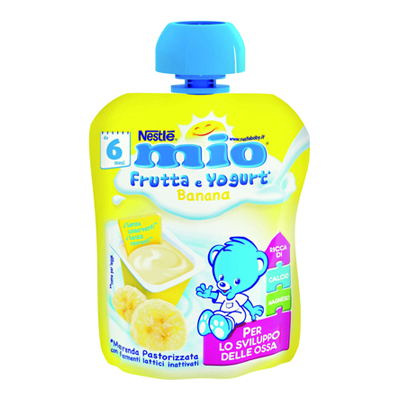 NESTLE MIO POUCH YOGURT BANANAGR.90X16