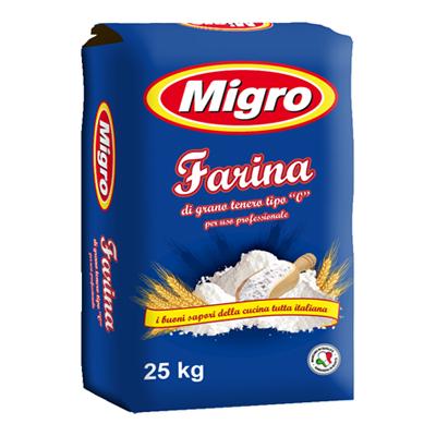 MIGRO FARINA KG.25 TIPO
