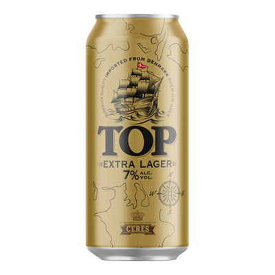 BIRRA CERES TOP EXTRA LAGER 7�CL.50