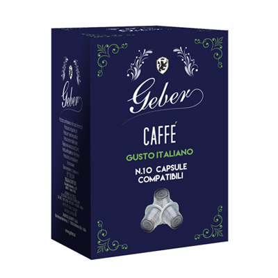 GEBER CAPSULE CAFFE'X10 PZ COMPATIBILI NESPRESSO