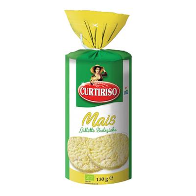 CURTI RISO GALLETTE DI MAIS GR.130