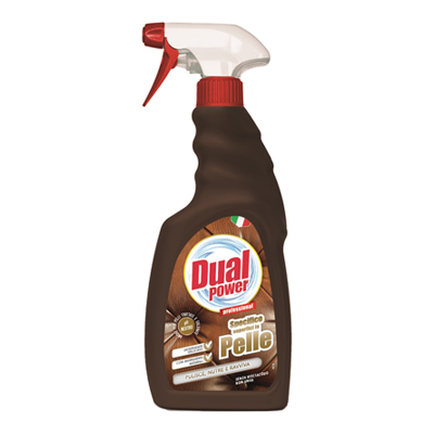 DUALPOWER DETERGENTE SPRAY PELLE ML.500