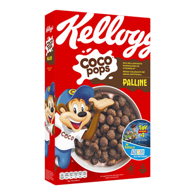KELLOGGS COCO POPS PALLINE GR.365