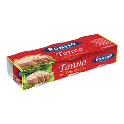 ROMERO TONNO OLIO OLIVA GR.80X3