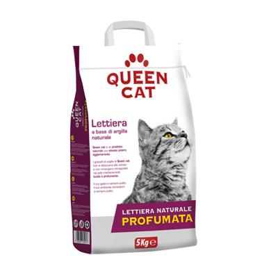 QUEEN CAT LETTIERA PROFUMATA KG.5