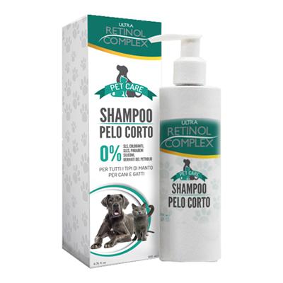 PET CARE SHAMPOO PELO CORTO ML.200