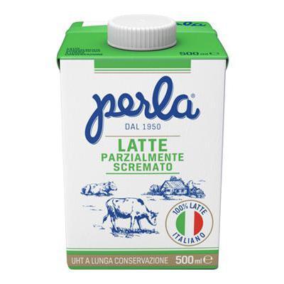 PERLA LATTE PARZIALMENTE SCREMATO ML.500