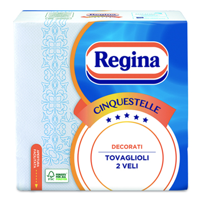 REGINA TOVAGLIOLI 5 STELLE 43PZ