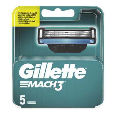 GILLETTE RICARICHE MACH 3 X5