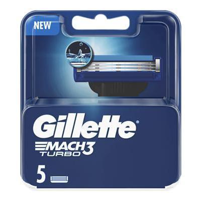 GILLETTE RICARICHE MACH 3 TURBO X5