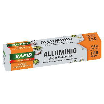 RAPID ALLUMINIO IN ROTOLI MT.150