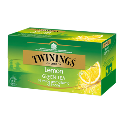 TWININGS 25 FILTRI THE VERDE LIMONE GR.50