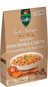 GALLO RISOTTO POMODORO/CAROTE/GRAN.NOCCIOLE GR.175GUSTO & BE