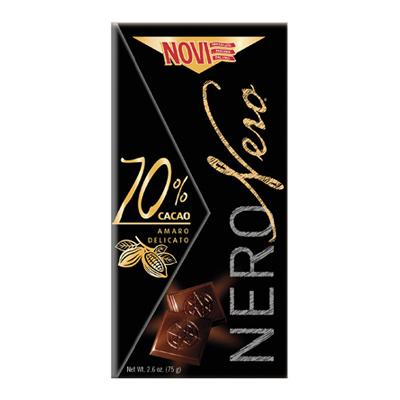 NERO NERO 70% CACAO GR.75