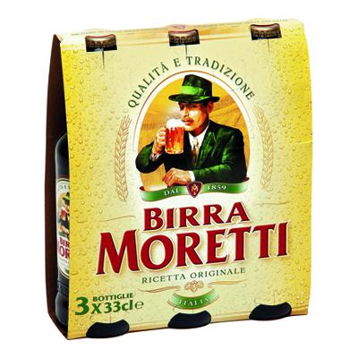 BIRRA MORETTI 4.6� CL.33X3